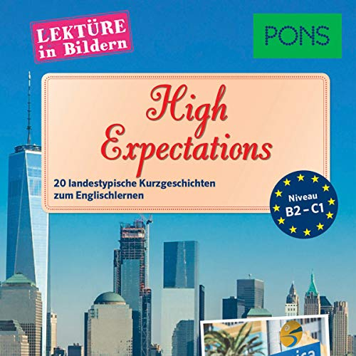 High Expectations. 20 landestypische Kurzgeschichten zum Englischlernen audiobook cover art
