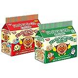 アンパンマンらーめん あっさりしょうゆ味・アンパンマンおうどん やさしいおだし 2種類詰め合わせ 各3パック 1箱:6パック入り (1パック4食入り)
