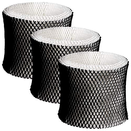 Future Way Humidifier Filter Compatible with Holmes Filter B, HWF64, HM1730, HM1745, Sunbeam SCM1745, SCM1746, 3 Packs Humidifier Wick Filter