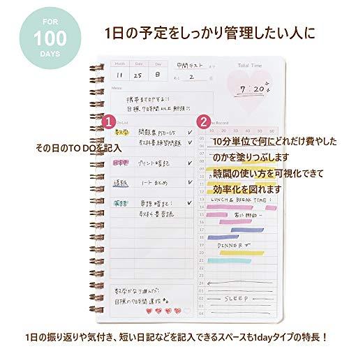 学研ステイフルスタディプランナー1dayスタディプランニングノートピンクAD05507