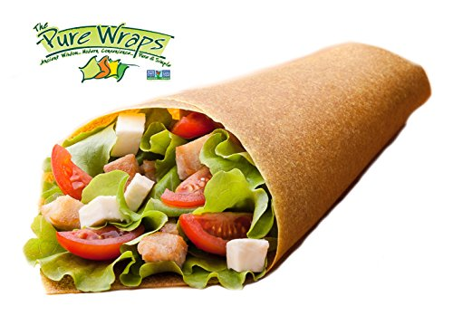Pure Wraps, Paleo Coconut Wraps, Curry Flavor (4 Pack), 16 Count