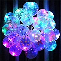 These Mix Colors Balloons with LED Lights are perfect for any occasion - Birthday Party, Wedding Ceremony, Marriage Anniversary, Corporate Events, Opening Ceremony, New Year, etc Assorted colors. Ordinary balloon bouquets become radiant plumes for we...