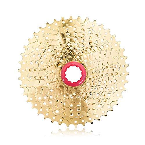 Bicicleta De 11 Velocidades 11-42T Rueda Libre Gold MTB Bicicleta De Montaña Rueda Libre para XT M8000 SLX M7000 XTR M9000 K7 NX GX