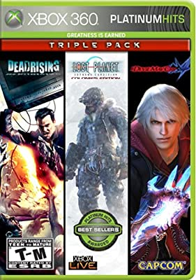 Capcom Platinum Hits Triple Pack (Dead Rising / Lost Planet: Extreme Condition / Devil May Cry 4) by Capcom