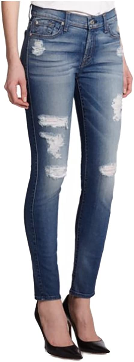7 For All Mankind Women's Mid Ankle Rise Jeans Skinny 70% OFF Outlet Fit All items in the store