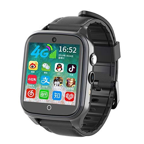 SEEK&SEEN Kinder-Smartwatch, SOS, Anti-Verlust, 4G, SIM-Karte, GPS, WLAN, Anrufortung, LBS Tracking Smartwatch