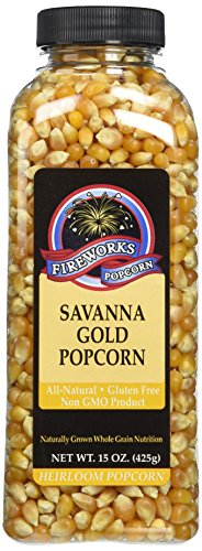 Fantastic Deal! Fireworks Popcorn Savanna Gold Popcorn, 15-Ounce Bottles (Pack of 6)