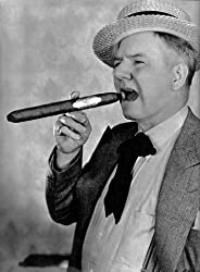 W. C. Fields smoking a cigar - Quotes on comedy and humor