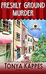 Freshly Ground Murder: A Dog Cozy Mystery (A Killer Coffee Mystery Series Book Three)
