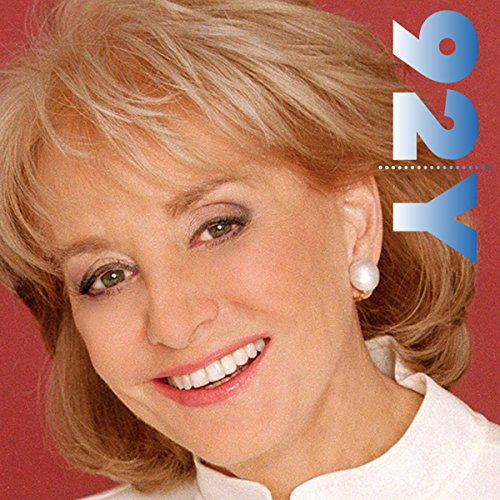Barbara Walters at the 92nd Street Y audiobook cover art