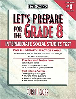 Let's Prepare for the Grade 8 Intermediate Social Studies Test (Let's Prepare for the Grade 8 Tests)