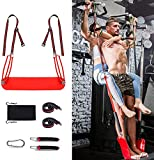 omotor Pull Up Revolution Assistance System Pull Up Assist Band Premium Powerlifting Stretch...