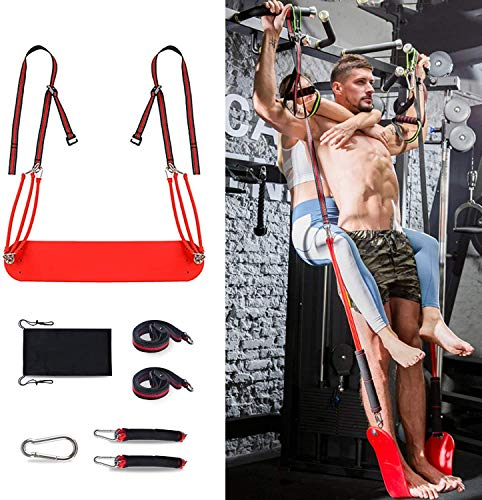 omotor Pull Up Revolution Assistance System Pull Up Assist Band Premium Powerlifting Stretch Resistance Bands