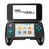 SNNC New Nintendo 2DS XL / 2DSLL Grip – Younik Handle Grip with Stand for Nintendo New 2DS XL 2017 ( Black )