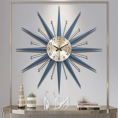 Wall Clocks for Living Room Decor 20 Inch Large Wall Clocks Large Decorative Silent Large Metal...