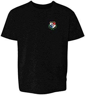 Panama Soccer Retro National Team Youth Kids T-Shirt