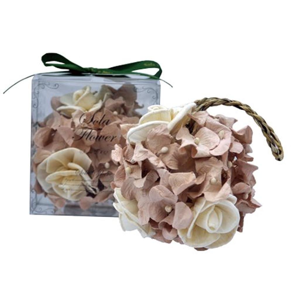 午後容器平らにするnew Sola Flower ソラフラワー スフィア Gentle Rose ジェントルローズ Sphere