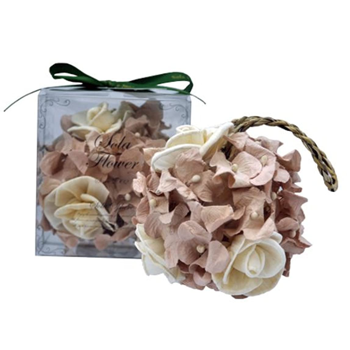 寛大な十二マントルnew Sola Flower ソラフラワー スフィア Gentle Rose ジェントルローズ Sphere