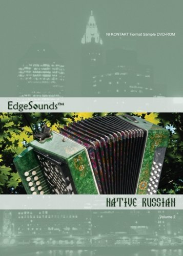 Lowest Price! EdgeSounds Native Russian Volume 2 NI Kontakt 2 Format DVD-ROM