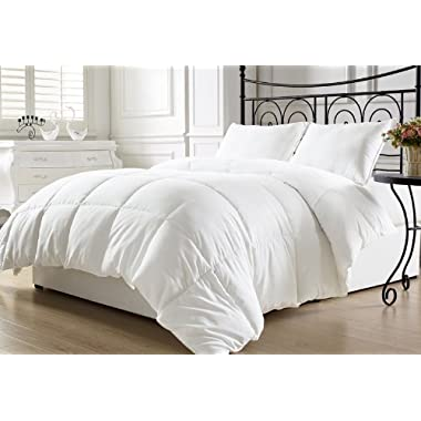 KingLinen White Down Alternative Comforter Duvet Insert King