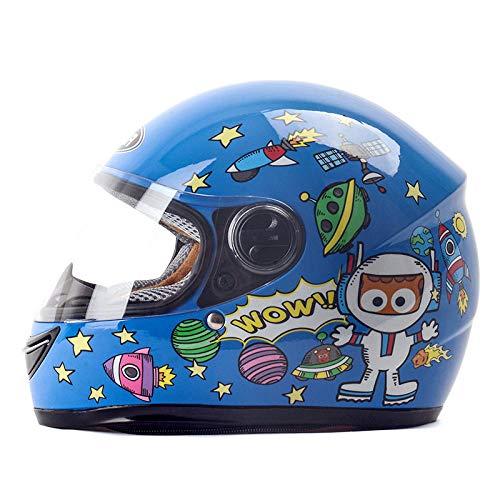 HNLong Cascos para niños, Autos eléctricos, Cascos de Dibujos Animados para niños...
