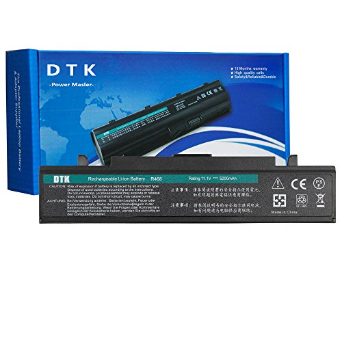 DTK AA-PB9NC6B AA-PB9NS6B AA-PB9NS6W Batería de Repuesto para Portátil SAMSUNG R428, R439, R460,R468, R470, R480, R519, R580, R620, R700,R720, R728, R780, RC420, RC510, RC520, RC530, P428, P467, Q320 )(11.1V 4400MAH 6CELL)