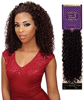 Eve Hair THE SCARLET Signature Wet n Wavy Human Hair Blended With Premium Fibers Style: Jerry Curl Bulk 18