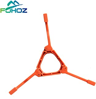 Cylinder Tripod Holder Gas Stove Camping Equipment Gear Supplies Small Mini Butane Stove Camp Kitchen Folding Canister Stand Camping Gas Cylinder Tripod Holder Support Bracket Fixator