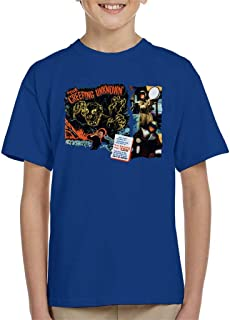 Hammer Horror Films Quatermass Creeping Unknown Kid's T-Shirt