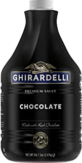 Ghirardelli Chocolate Flavored Sauce, Chocolate, 87.3-Ounce Package (packaging may vary)