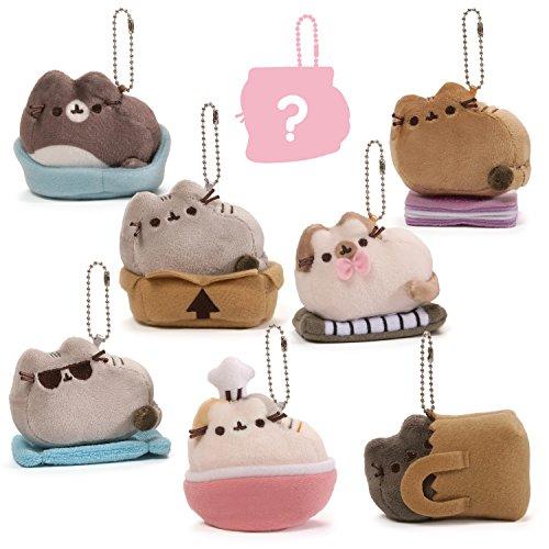 GUND Pusheen Surprise Series #3 Places Cats Sit Stuffed Animal Plush, 2.75'