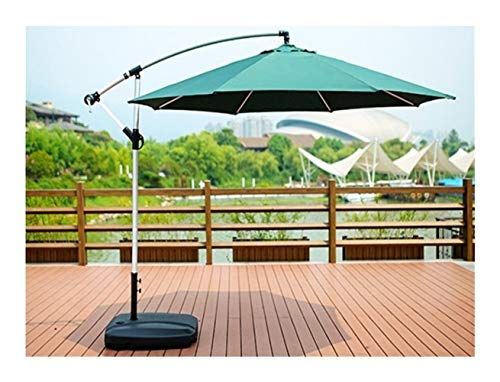 Sonnenschirme für die Terrasse, einseitig, Außenbereich, Sonnenschirm, Außenbereich, Sonnenschirm, Römischer Umbrella Umbrella Guardiano 3m Rain-Proof aus gebürstetem Aluminium (ve