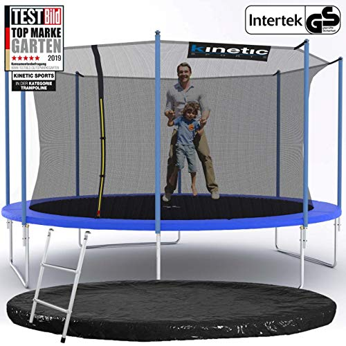 Kinetic Sports Gartentrampolin – ø 425 cm