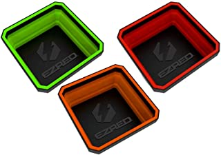 EZRED EZTRAY Collapsible Parts Tray, Set of 3