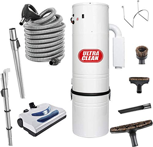 Ultra Clean Central Vacuum Package, Tangential Bypass Motor up to...