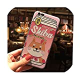 日本かわいい柴犬ドリンク電話ケースiphone 11プロXSマックスXRソフトTPUバックカバーiphone 8 7 6 s 6プラスケース、iphone 7 2