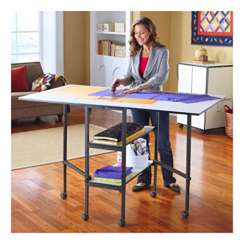 Sullivans Adjustable Home Hobby Table