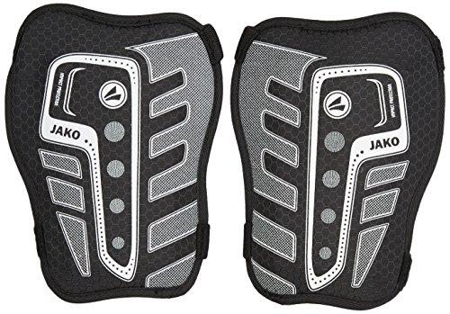 JAKO Schienbeinschoner Performance Basic Stäbchen ohne Knöchelschutz, Schwarz/Weiß, S