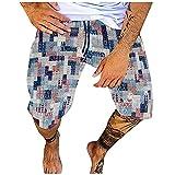 Photo de Bas Décontracté Court Sport de Fitness Respirant Pyjama de Sport Coton d'été Pantalon Cordon Homme Shorts Hommes Short Running Casual Ajustable Beach
