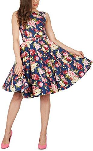 'Audrey' Vintage Divinity Kleid im 50er-Jahre-Stil - 4