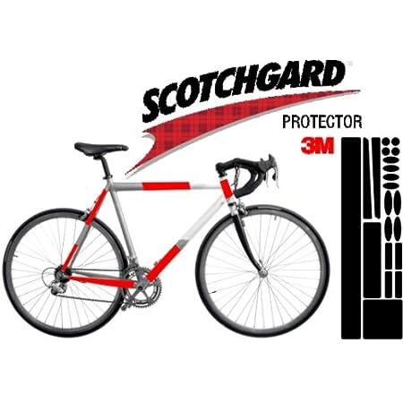 3m Lackschutz Folie Schutz Für Fahrrad Transparent Bogen Gross Mountain Ca 0 225mm Stark 170x560mm Sport Freizeit