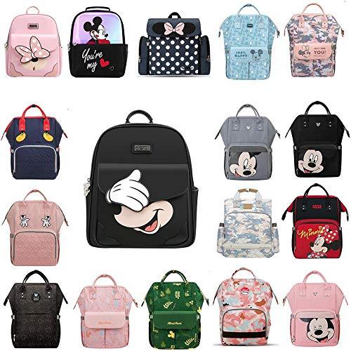 NANANANA Disney USB calefacción pañal bolsa maternidad mochila gran capacidad enfermería viaje mochila preservación del calor dropshiping