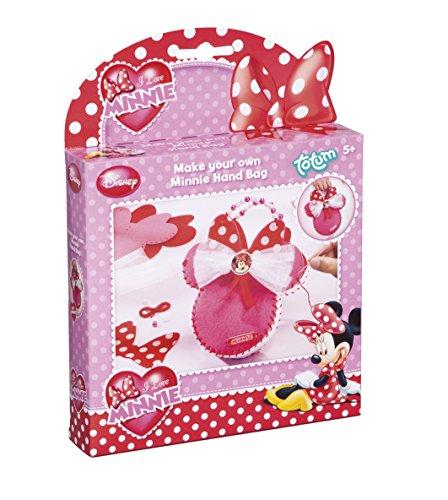 Totum 580022 - Disney Minnie Mouse Basteln-Set, Handtasche