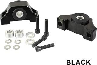 Engine Motor Torque Mount Kit B-series/D-series For 92-01 Honda Civic EG EK JDM Black
