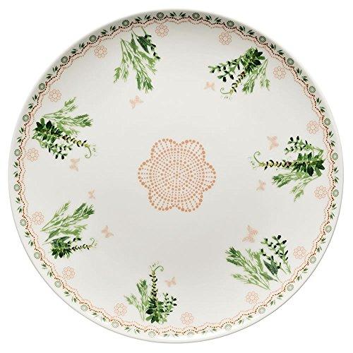Hutschenreuther 0247172575410862–Lots of Dots Garden–Piatto Piano 22cm, Colore: Verde