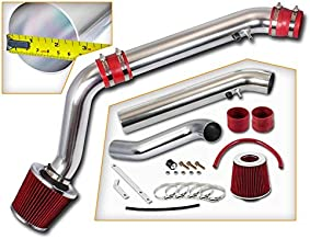Rtunes Racing Cold Air Intake Kit + Filter Combo RED Compatible For 96-00 Honda Civic EX/HX