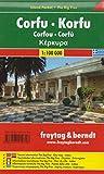 Korfu, Autokarte 1:100.000, Island Pocket + The Big Five: Toeristische wegenkaart 1:100 000 (freytag & berndt Auto + Freizeitkarten)