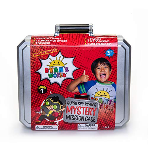 RYAN'S WORLD Secret Agent Mystery Mission Case (Amazon US Exclusive)