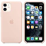 AIWE Cover Custodia Compatibile Apple iPhone 11 (2019) 6,1',Custodia Liquid Silicone per iPhone11 (Rosa Sabbia)