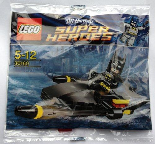 LEGO Super Heroes: Batman Y Jetski Establecer 30160 (Bolsas)